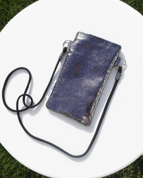 PHONE BAG silver