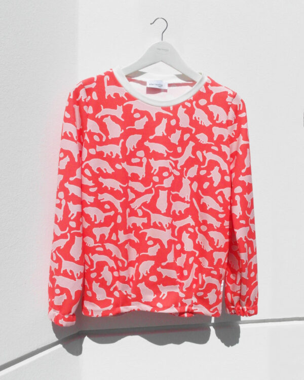 LOUNGE SWEATER Handmade in WIEN